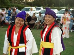 Cara Shinsato and Sandy Higa of Maui