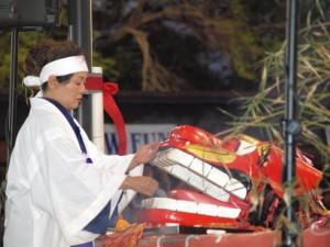 Purifying with Okinawa sea salt