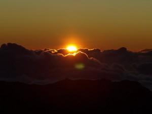 Sunrise and new beginnings.