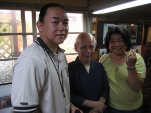 Matayoshi kanjeeku, National Living Treasure, inspirational and humble.